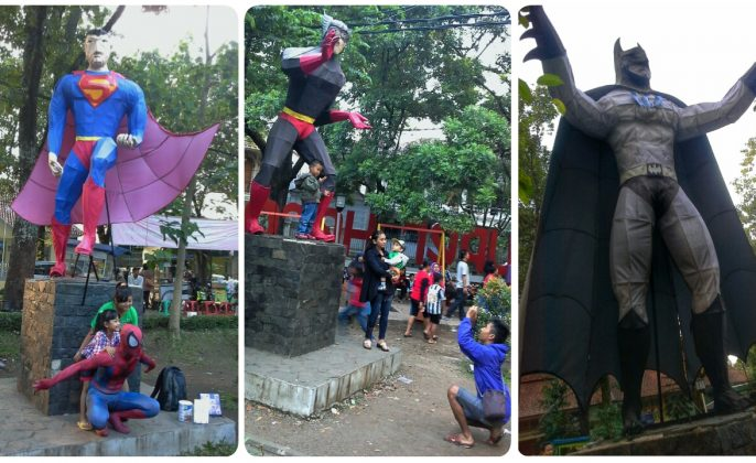 destinasi wisata taman super hero bandung