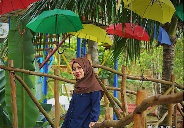 lokasi wisata pule payung