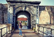 Tempat Wisata di Bengkulu benteng marlborough
