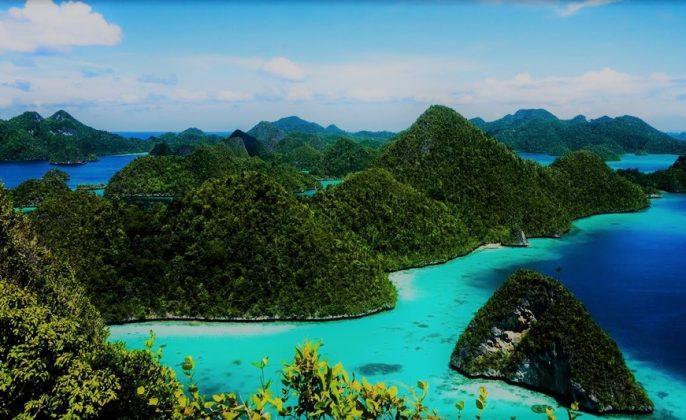Raja Ampat Tempat Wisata di Papua yang Populer di Dunia