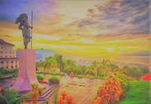 Benteng Ferangi tempat wisata Ambon