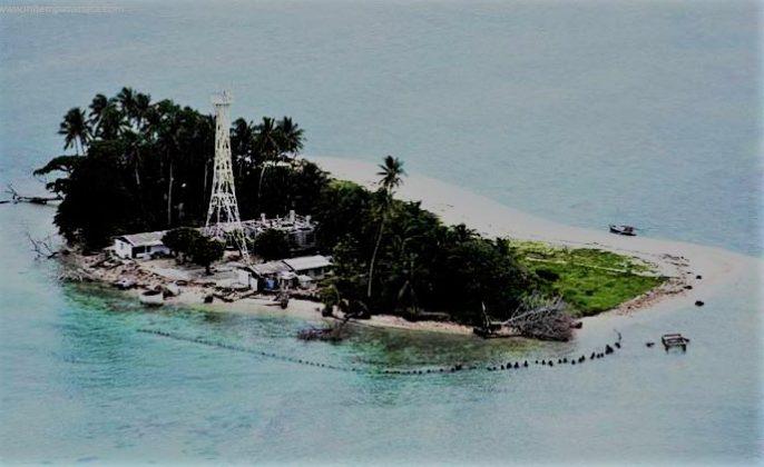 Tempat wisata Nusa Pombo di Ambon