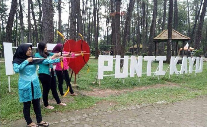 destinasi wisata palembang hutan punti kayu