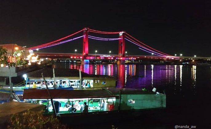 tempat wisata di palembang sungai musi