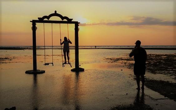 tempat wisata pantai gili trawangan lombok