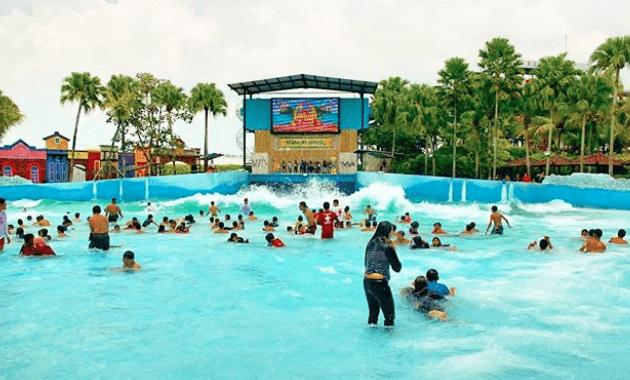 wisata keluarga di Malang hawai water park - @hawaiwaterpark