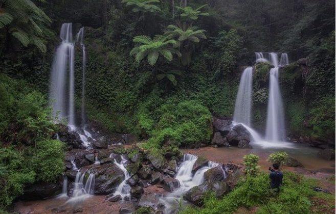 air terjun grenjengan kembar magelang @pandu.i