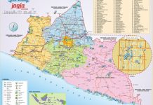 peta wisata Jogja ukuran besar terbaru