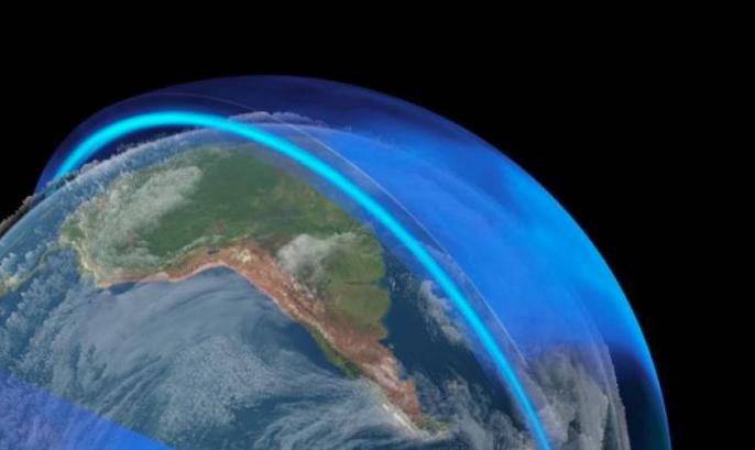 lapisan ozon selama covid-19