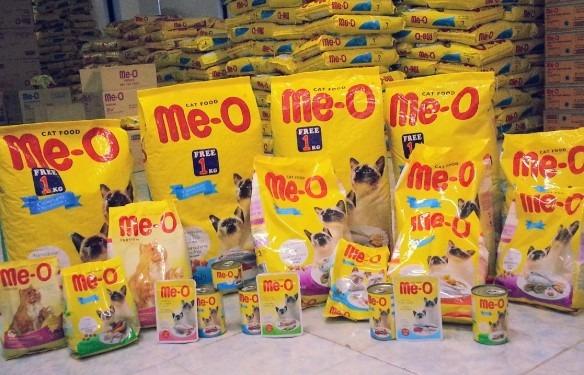 Me-O makanan kucing persia